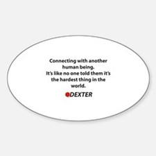 Dexter Quote Connecting Decal