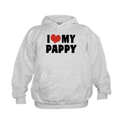 I Love My Pappy Hoodie