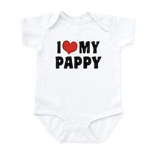 I Love My Pappy Infant Bodysuit