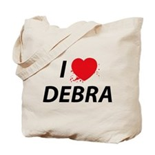 I Love Debra Tote Bag