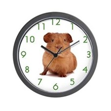 Unique Guinea pigs Wall Clock