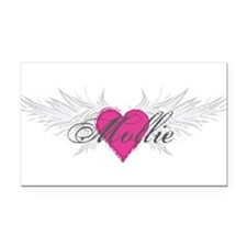 Mollie-angel-wings.png Rectangle Car Magnet