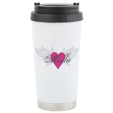 Mollie-angel-wings.png Travel Coffee Mug