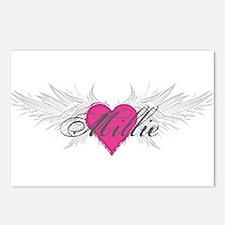 Millie-angel-wings.png Postcards (Package of 8)