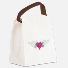 Millie-angel-wings.png Canvas Lunch Bag
