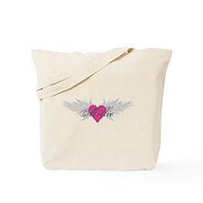 Millie-angel-wings.png Tote Bag