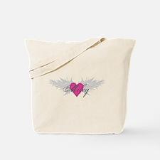 Miley-angel-wings.png Tote Bag