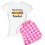 6th Grade Teacher Pencil Women's Light Pajamas