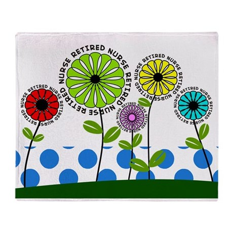 retired nurse pillow 2013 Throw Blanket
