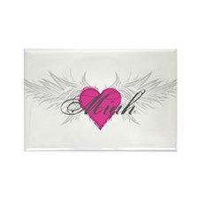 Miah-angel-wings.png Rectangle Magnet