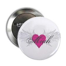 "Miah-angel-wings.png 2.25"" Button (10 pack)"