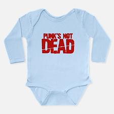 Punk's Not Dead Long Sleeve Infant Bodysuit