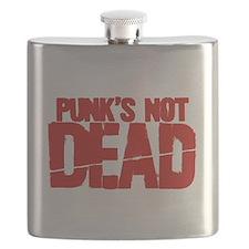 Punk's Not Dead Flask