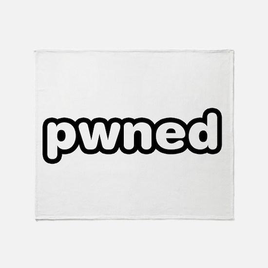 pwned Video Game Throw Blanket