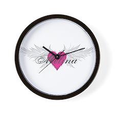 Melina-angel-wings.png Wall Clock