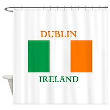 Dublin Ireland Shower Curtain