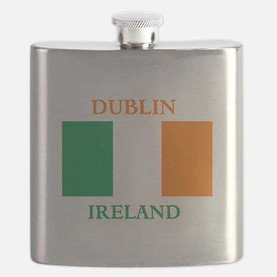 Dublin Ireland Flask