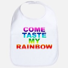 Come Taste My Rainbow Bib