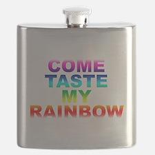 Come Taste My Rainbow Flask