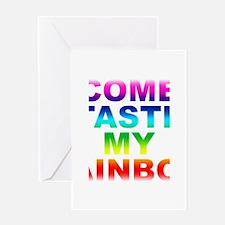 Come Taste My Rainbow Greeting Card