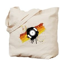 Graffiti DJ Vinyl Tote Bag