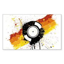 Graffiti DJ Vinyl Decal