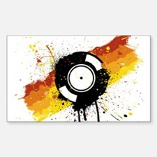 Graffiti DJ Vinyl Decal
