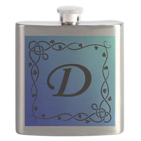 Blue Initial D Flask