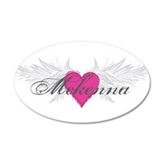 Mckenna-angel-wings.png 35x21 Oval Wall Decal