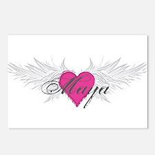 Maya-angel-wings.png Postcards (Package of 8)