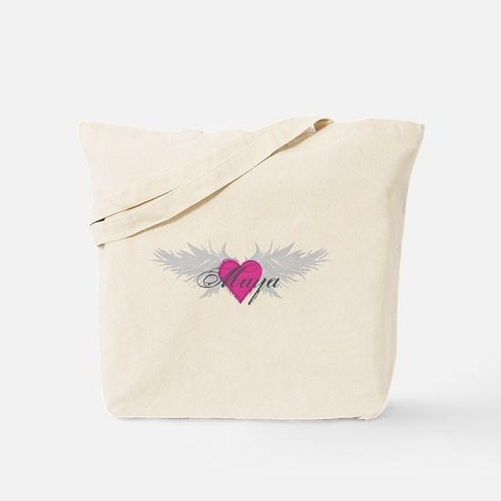 Maya-angel-wings.png Tote Bag