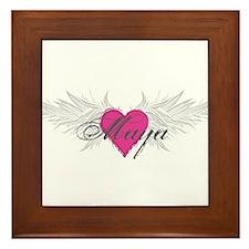 Maya-angel-wings.png Framed Tile