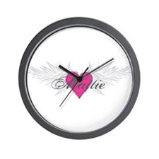Mattie-angel-wings.png Wall Clock