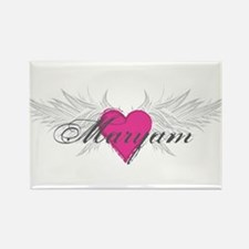 Maryam-angel-wings.png Rectangle Magnet