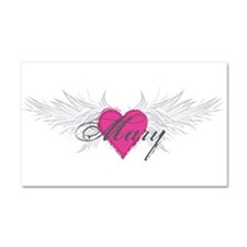Mary-angel-wings.png Car Magnet 20 x 12
