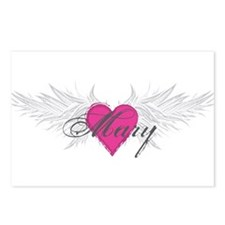 Mary-angel-wings.png Postcards (Package of 8)