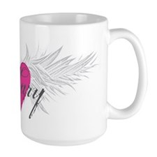 Mary-angel-wings.png Ceramic Mugs