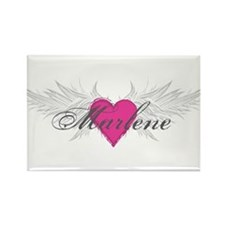 Marlene-angel-wings.png Rectangle Magnet