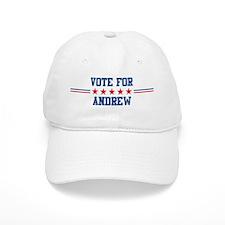 Vote for ANDREW Baseball Cap