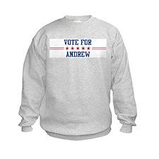 Vote for ANDREW Sweatshirt