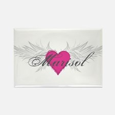 Marisol-angel-wings.png Rectangle Magnet