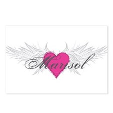 Marisol-angel-wings.png Postcards (Package of 8)