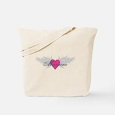 Mariam-angel-wings.png Tote Bag