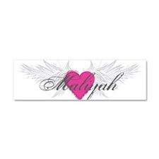 My Sweet Angel Maliyah Car Magnet 10 x 3