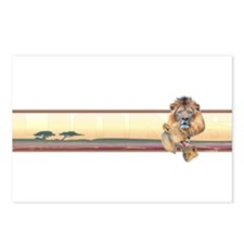 Lion band Postcards (Package of 8)