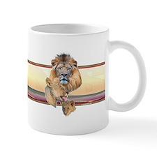 Lion band Mug
