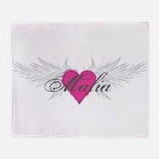 My Sweet Angel Malia Throw Blanket