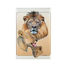 Lion Pride Rectangle Magnet