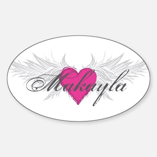 My Sweet Angel Makayla Sticker (Oval)
