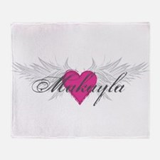My Sweet Angel Makayla Throw Blanket